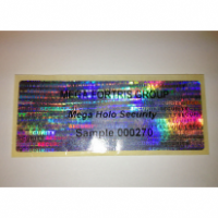 Mega Holographic Label